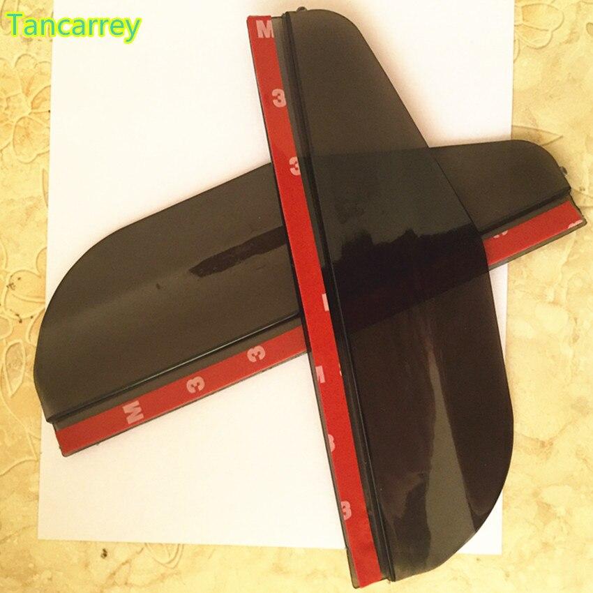 אביזרי רכב Rearview Mirror אטים לגשם עבור רנו מגאן 2 3 הדאסטר לוגן קליאו 4 3 לגונה 2 Sandero סניק 2