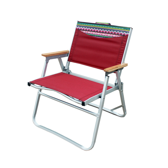 Aluminum Outdoor Folding Beach Lounge Chair Recliner Armchair Fishing Chairs Set