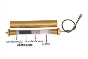 PCP air compressor filter 4500 psi oil water filter diving seperator 300bar 30mpa L350mm*OD49mm*ID36mm(China)
