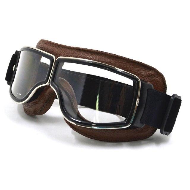 Lunettes de moto Sport course hors route lunettes de Motocross lunettes cyclisme Eye Ware MX casques Gafas pour aviateur pilote Cruiser