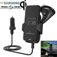 CARPRIE Hot Product Qi Wireless Charger Dock Car Holder Charging Mount Pad For Samsung S6 S7