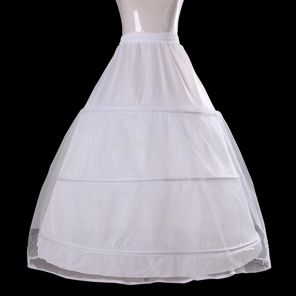 Bride-wedding-dress-accessory-bride-petticoat-3-rings-petticoat-Freeshipping