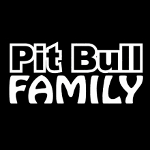 Pit Bull Family Sticker Car Window Styling Vinyl Decal Rescue Breed Bully Adopt Love Dog Jdm