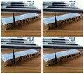 Новое Прибытие 4 Шт./лот Wireless DMX Splitter 8 Канал Out DMX Splitter, Свет Этапа Беспроводной Усилитель Сигнала Splitter