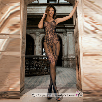 New Style sweet sexy lingerie costumes underwear for female Black product Mesh fancy R96147