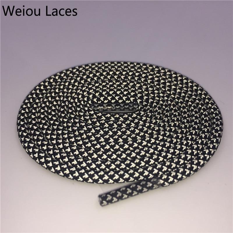 Weiou 3M tipo redondo cordones de zapatos reflectantes Cordones de - Accesorios de calzado