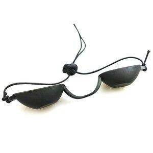Image 3 - Flexible Uv Eye Protection Indoor & Outdoor Sunbed Tanning Goggles Beach Sunbathing Eyewear Soft adjustable