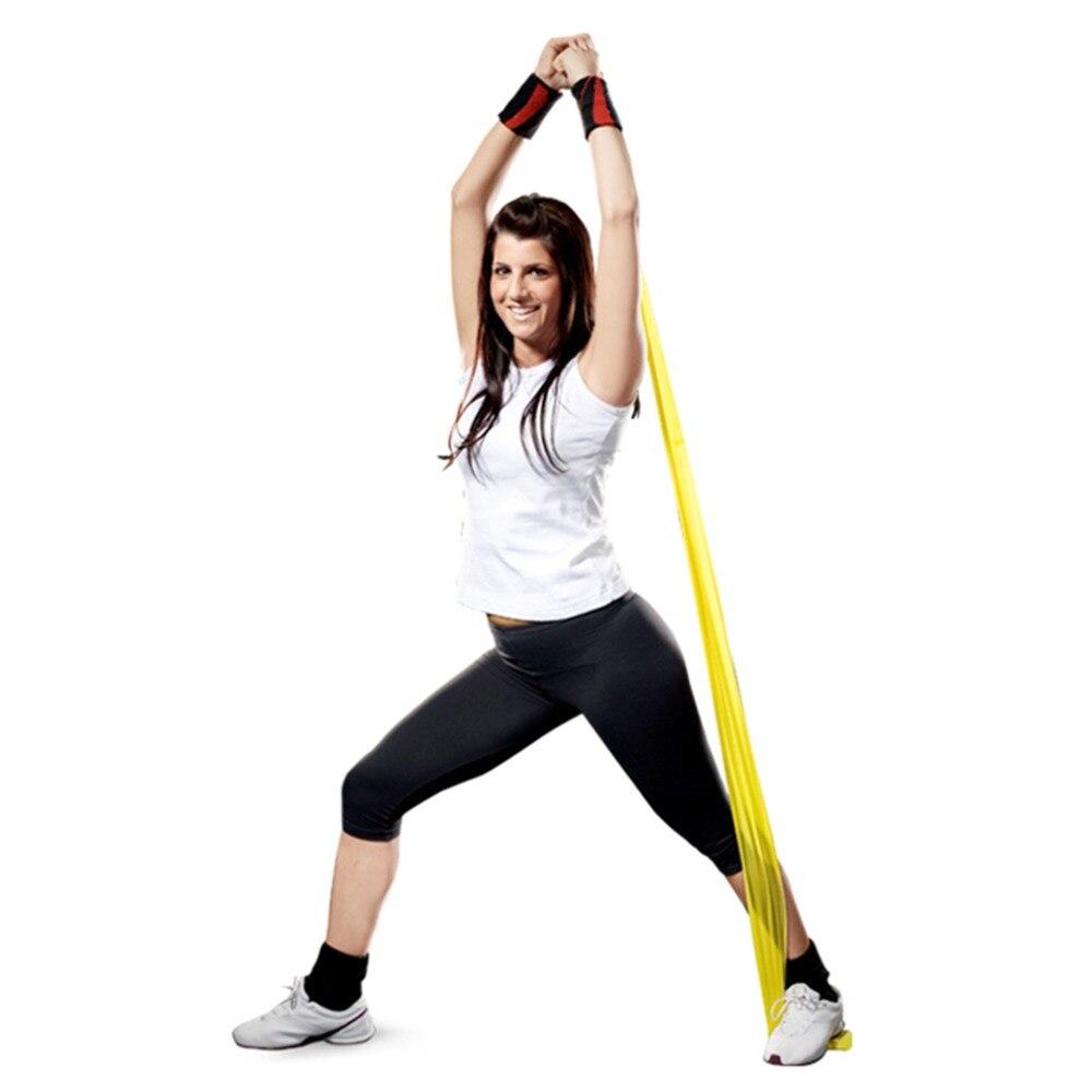 HEISSE 1.2m elastische Yoga Pilates - Fitness und Bodybuilding - Foto 3