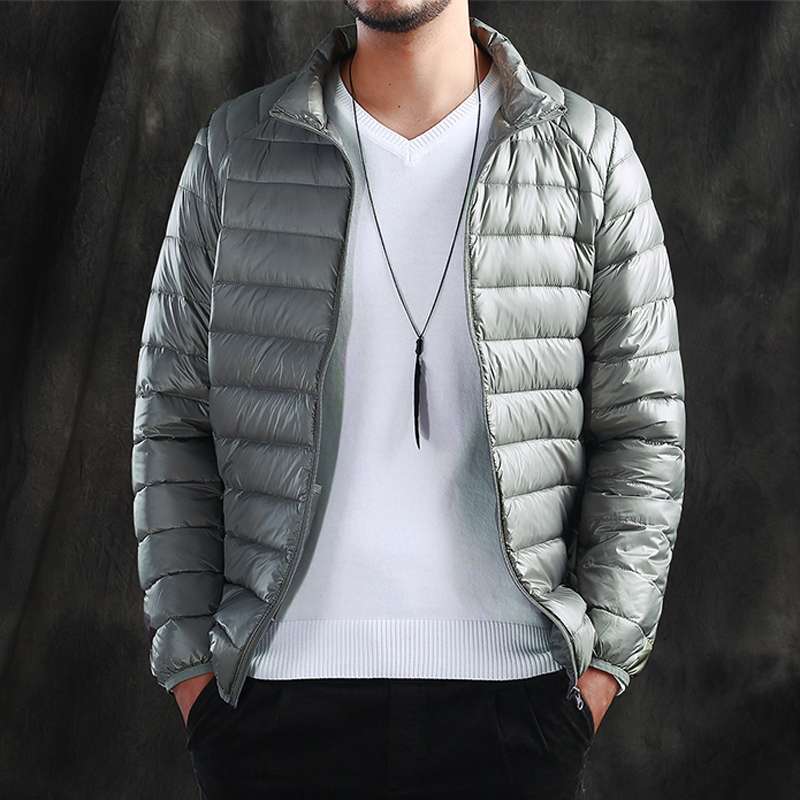 Aliexpress.com : Buy Winter men&39s down jacket stand collar slim