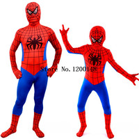 Spider Man Suit Spider Man Costumes Adults Children Kids Spider Man Cosplay Clothing Red Black Spiderman