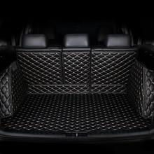 حصيرة صندوق السيارة المخصص من kalaisike لسيارة Mercedes Benz جميع موديلات C ML GLA GLE GL CLA R B GLS GLC ملحقات تزيين السيارة من الفئة