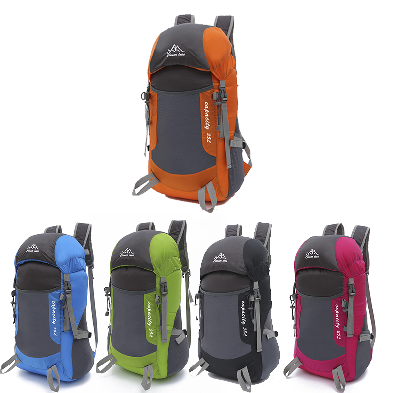 orange blue Zaino Donne Skin Trekking Climbing Delle rosy Soft Da Mountain Black Super Impermeabile Uomini Pieghevole green Outdoor Viaggio Bag Pack TqH1nBn