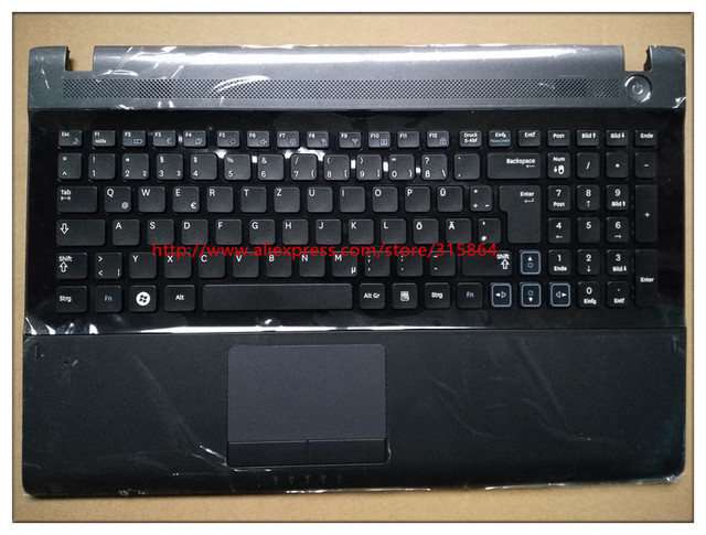 2431291eabc Germany layout new laptop keyboard with touchpad palmrest for samsung RV509  RV511 RV515 RV520 S3511 RCE3511E