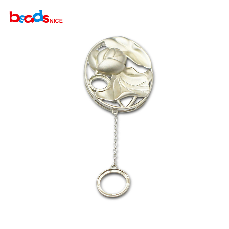 Beadsnice 925 argent Sterling Stud boucle d'oreille bijoux plateau pour boucle d'oreille cadeau pour elle ID37130