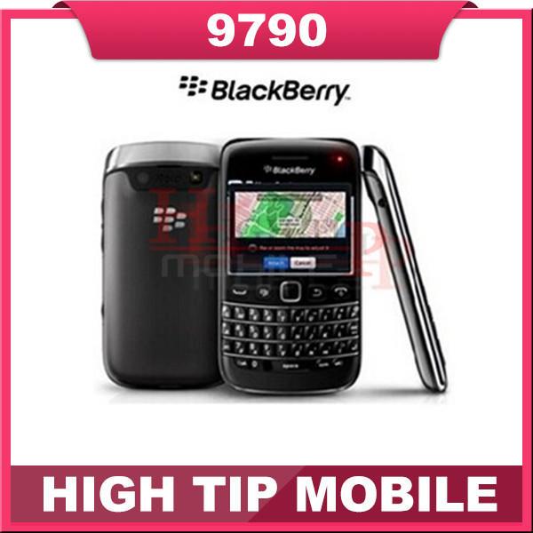 Reformado 9790 abierto original de blackberry bold 9790 wifi 3g gps del teléfono móvil del envío gratis