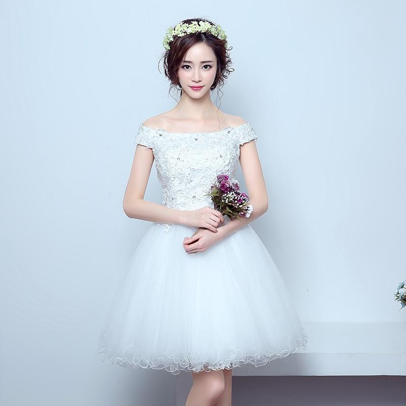 e04da17de66 WB552 Elegant Prom Dresses Cheap Vestidos De Baile Pink Celebrity Evening  Party Gown Appliques Lace White Short Prom Dress