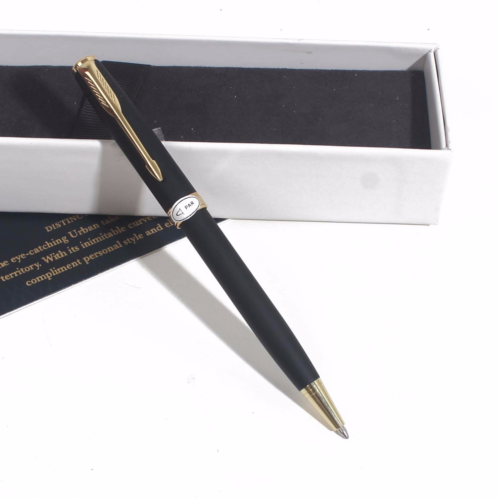 Sonneting Rollerball pen metal office school pen Classic gold black gold clip pen gift with box blackSonneting Rollerball pen metal office school pen Classic gold black gold clip pen gift with box black