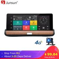 Junsun 4G 7 Inch Car GPS Navigation Camera Bluetooth Android 5 0 Navigators Automobile With ADAS
