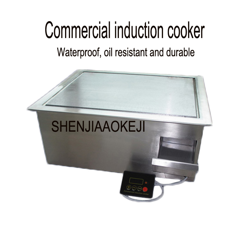 High-power induction cooker Western kitchen Commercial energy-saving embedded electromagnetic furnace durable 3.5KW 220VHigh-power induction cooker Western kitchen Commercial energy-saving embedded electromagnetic furnace durable 3.5KW 220V