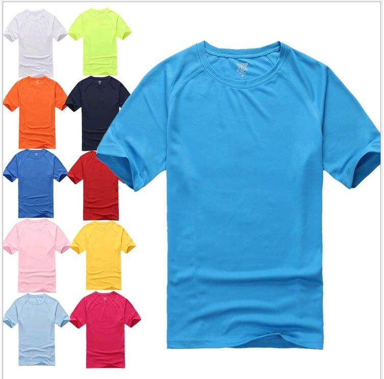 Felnőtt üres póló Candy színes ruhák rövid ujjú férfiak tömör kiskereskedelmi ingek uniex Támogatja a nyomtatott betűket.