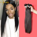 Peruvian Hair Weave Rosa Queen Hair Products  Weft Hair Extensions Straight 3 Bundles Unprocessed Peruvian Virgin Straight Hair