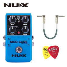 NUX Mod Core Deluxe Guitar Effect Pedal True Bypass 8 Modulation Effects Preset Tone Lock for Electronic Guitar and Bass