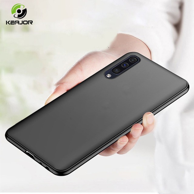 Keajor Matte Case For Samsung Galaxy A50 Case Soft TPU Silicone Bumper Shell Ultra Thin Back Cover For Samsung Galaxy A30 Hoesje