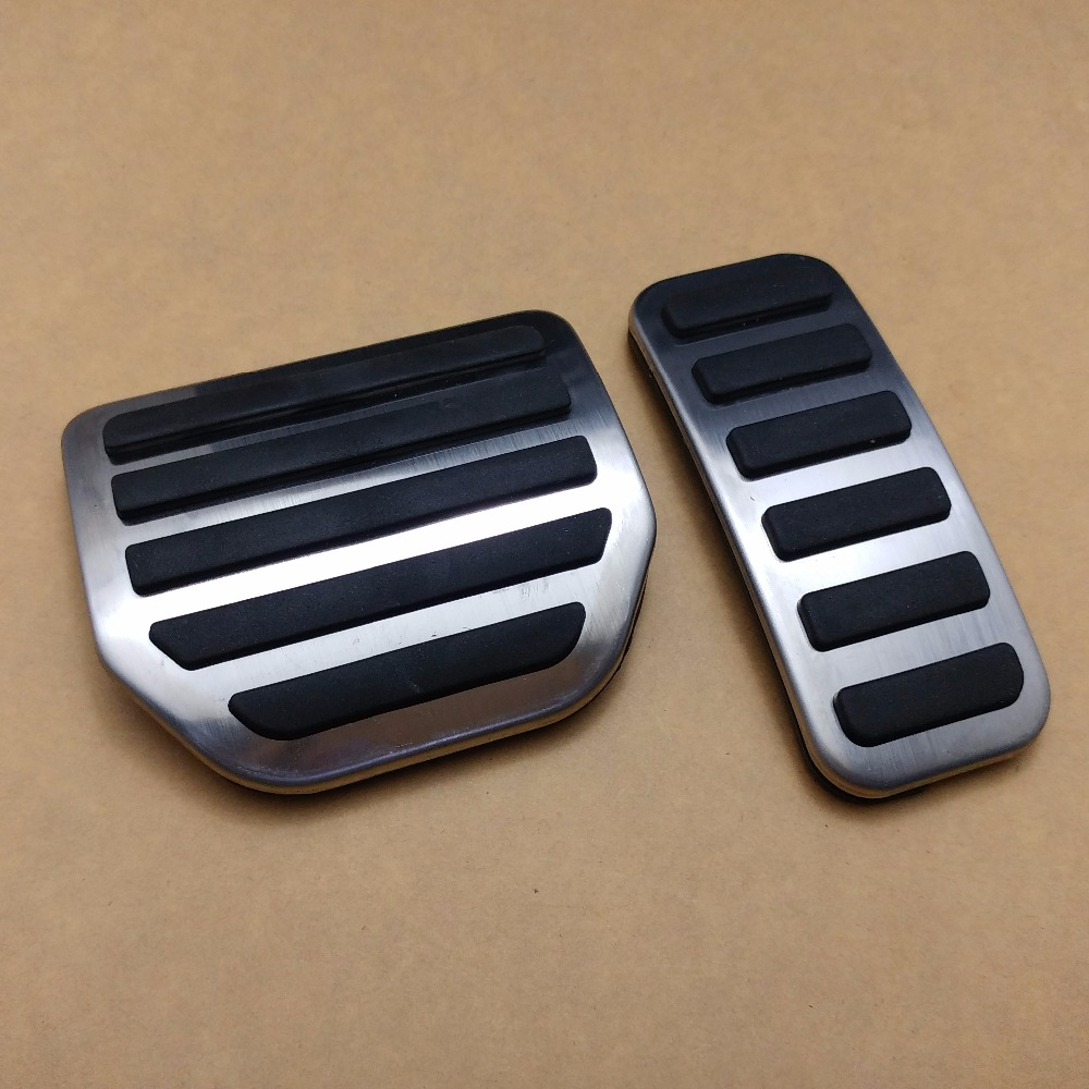 2pcs Gas Fuel Brake Foot Pedal AT For Land Rover Range Rover Sport 2004-2013