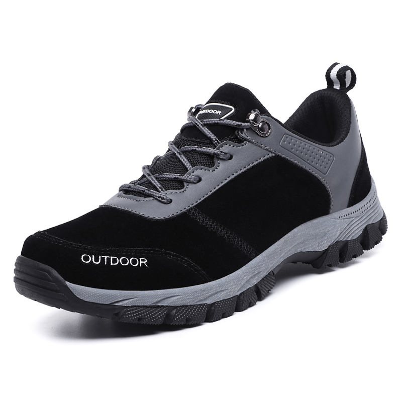 RUIFF new size hiking shoes outdoor leisure sports shoes breathable non-slip shock absorption leather men's shoes