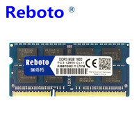 Reboto Brand New Sealed DDR3 4GB 1066MHZ Laptop PC3 8500 RAM Memory Compatible With All Motherboard