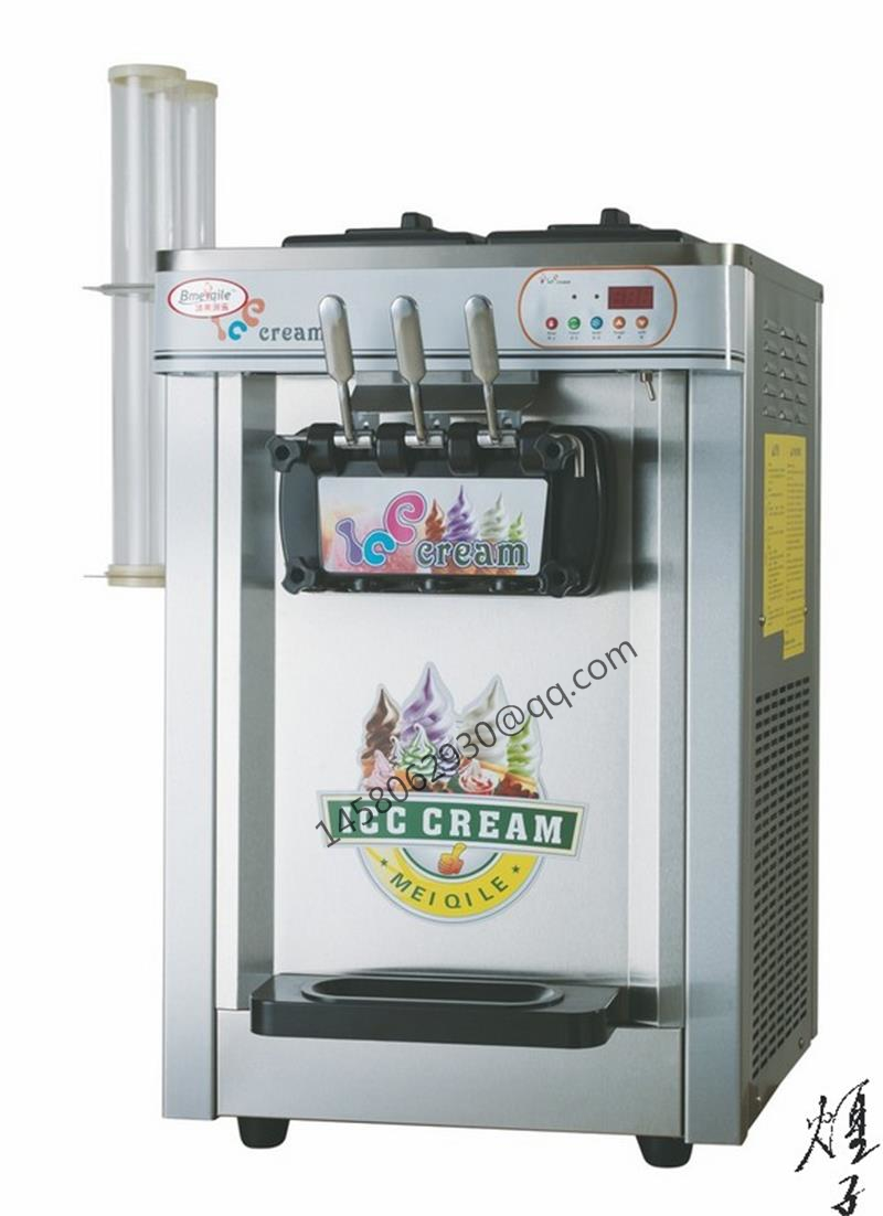 China soft serve ice cream machine table top soft serve ice cream machine for sale rainbow soft ice cream machine eu popular soft serve ice cream maker machine desk top ice cream machine for sale