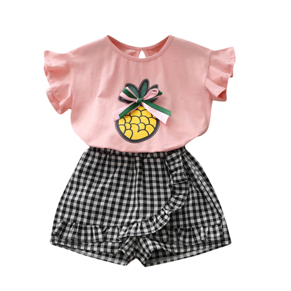 Muqgew 2019 Hot Sale Toddler Baby Girl Outfit Clothes