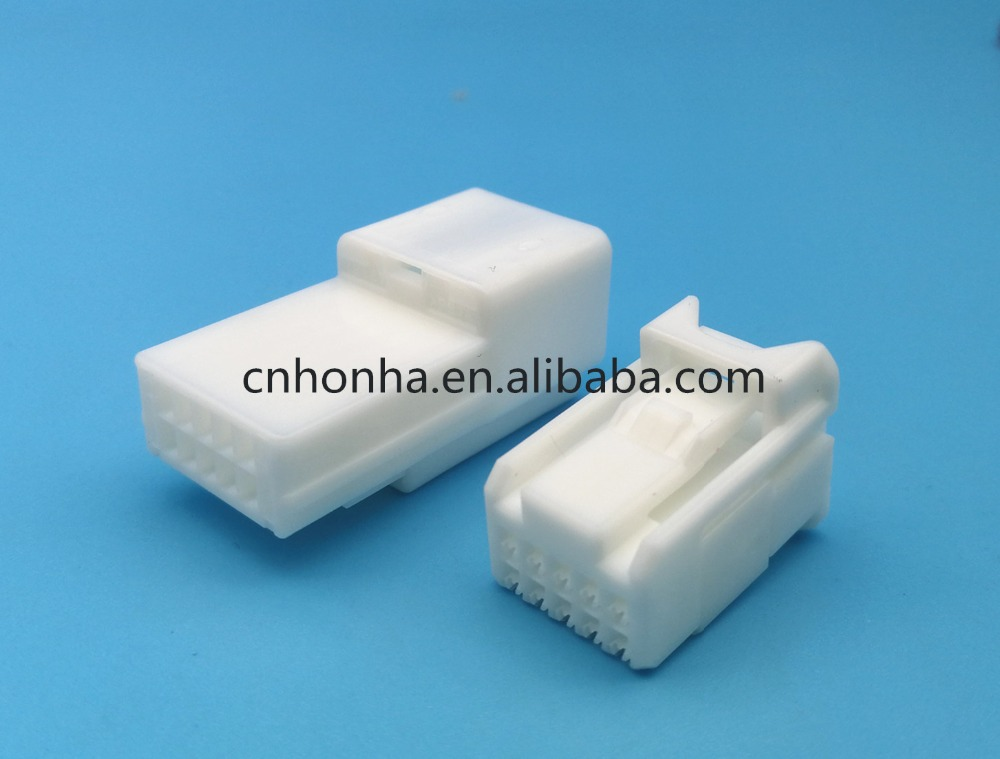 Sumitomo TS Series 10 Pin Female Male Unsealed Automotive Electric Wiring Harness Connector With Terminal 6098-3909 6098-3869