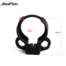 JouFou Hunting Accessories Tactical Lightweight Loop End Plate Sling Swivel Adapter Mount for AR15 M4 Rifle