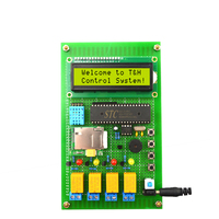 GSM Temperature/humidity control system Remote monitoring DIY Production kit