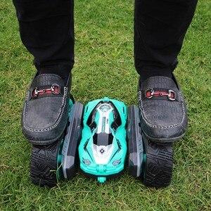 Image 3 - Радиоуправляемый автомобиль, супер четырехколесный привод, внедорожный Радиоуправляемый автомобиль, дрифт, деформация трюка, двусторонний автомобиль, перезаряжаемый детский игрушечный автомобиль