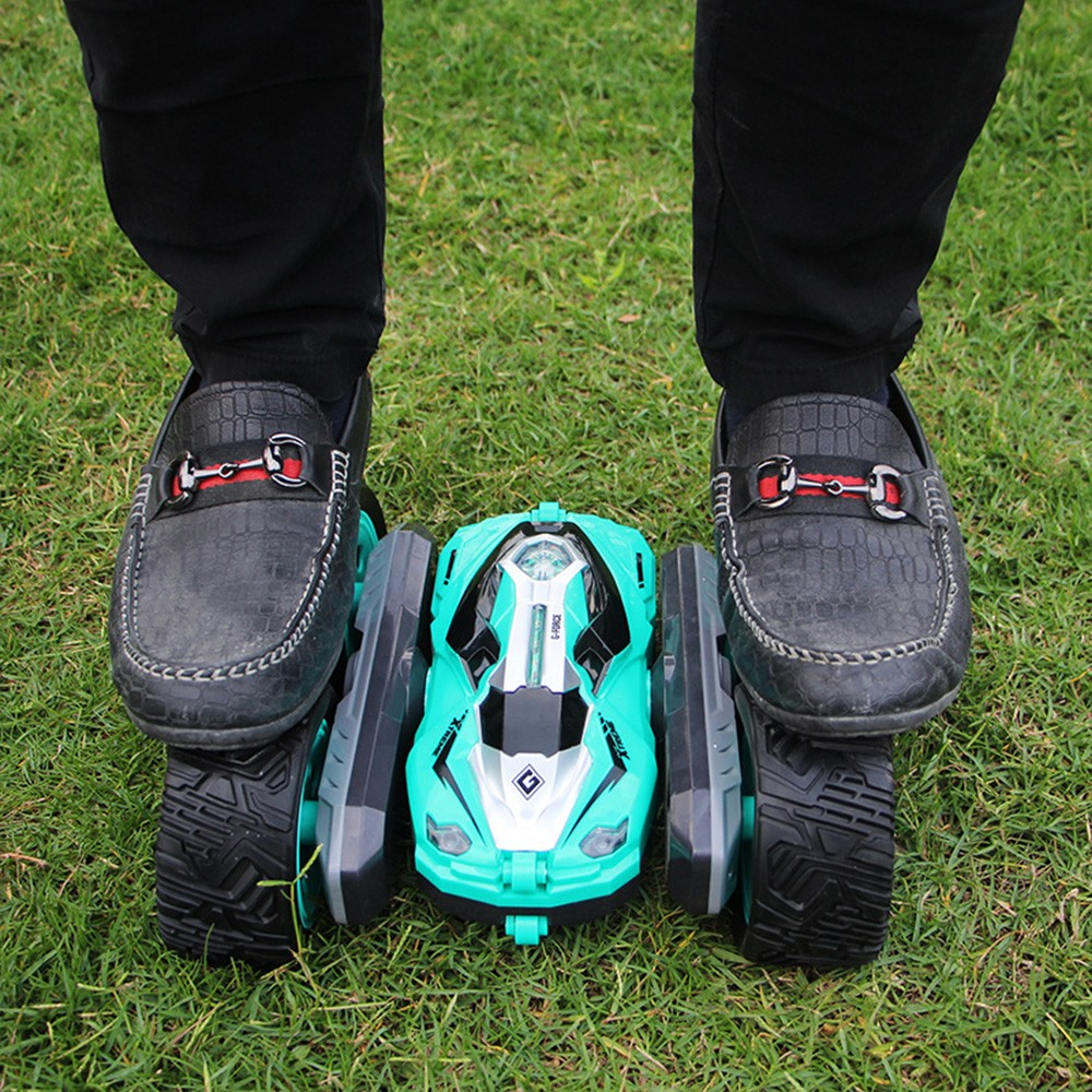 Image 3 - rc car Super four wheel drive off road rc car drift stunt deformation double sided car rechargeable children's toy car-in RC Cars from Toys & Hobbies