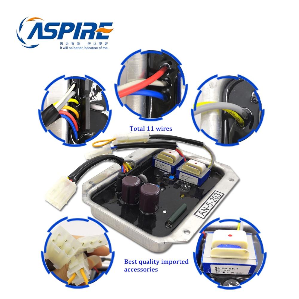 Aspire Genset Generator Denyo AVR AN 5 203 Automatic Voltage Regulator AN-5-203