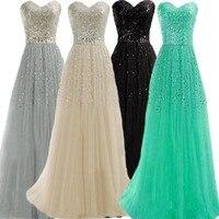Pretty New Vestidos De Festa 2015 Sexy Women Wear Elegant Sequined Maxi Long Evening Dresses Formal