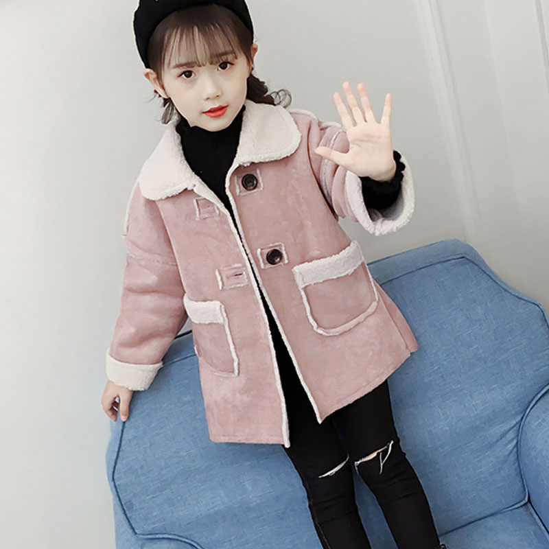 woolen solid long jackets for baby big girls winter trench coats kids outerwear tops clothing children coat for girls 10 years girls winter jackets long woolen coats for kids girls casual autumn children s clothes teenage clothing for girls 6 8 12 years