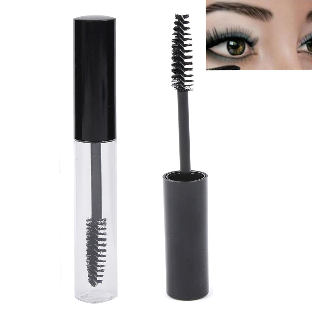 b1a654bdcf5 10 mL Makeup Tool Accessories Refillable Bottles Empty Black Eyelash Tube  Mascara