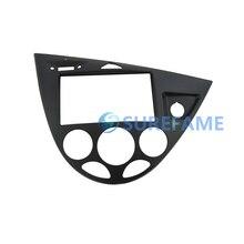 Двойной Din Автомобиль фриз для Ford для фокусировки MK1/Fiesta RHD стерео Панель крепление на приборную панель отделка комплект Уход за кожей лица плиты рамка лицевой переходник крышка