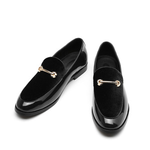 Image 5 - M anxiu 2020 Fashion Pointed Toe Dress Shoes Men Loafers Patent Leather Oxford Shoes for Men Formal Mariage Wedding Shoes
