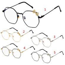 324dbd9f81 Fashion New Women Cute Optical Glasses Bowknot Frame Kawaii Lady Girls Female  Eyewear Clear Lens Spectacle