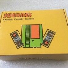 Ретро игровая консоль NTSC и PAL-B TV портативная Встроенная 118 классические различные игры двойной геймпад 14 игр может экономить батарею