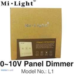Mi свет L1 AC110V 220 V 1-канал 0 ~ 10 V Панель диммер использования с mi. свет 0-10 V тусклый mi нг драйвер LS4 для одного Цвет Светодиодные ленты