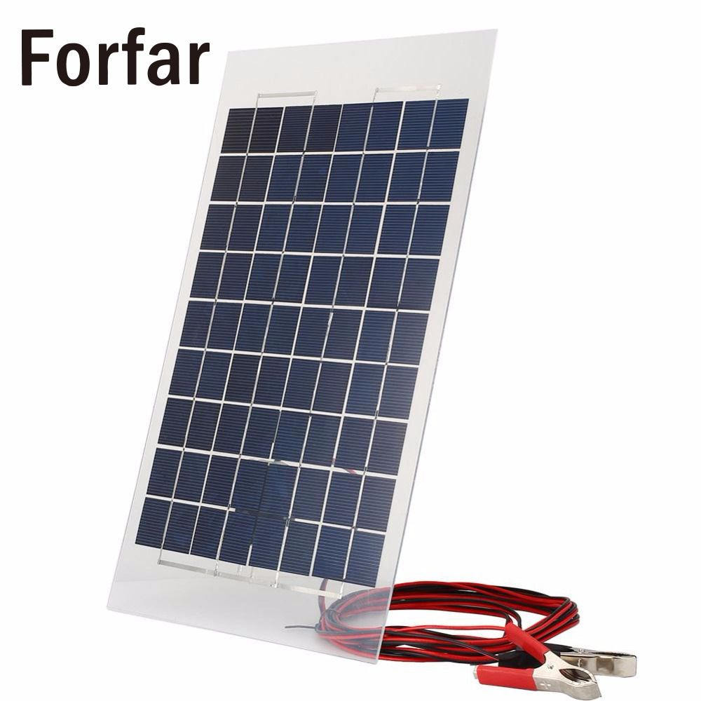 new 18V 10W Solar Charger Panel Charging Portable External Battery Solar Charger Bank for Car W
