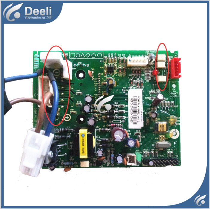 95% new for Air conditioning computer board DCINV-FAN-15A (PS21964) PC board 40188 automotive computer board
