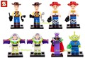 SY172 Building Blocks Super Heroes Toy Story Buzz Light Year Toys Woody Jessie Emperor Zurg Squeezy Aliens