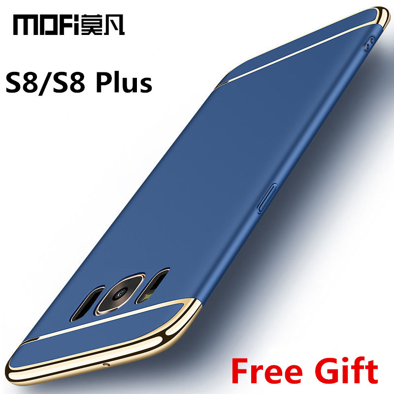 for Samsung S8 case Samsung Galaxy S8 plus case cover hard back protection S8+ capas coque blue gold MOFi original s8 cover